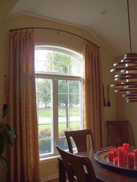 arch window rod for curtain 35 best images about window treatments on pinterest