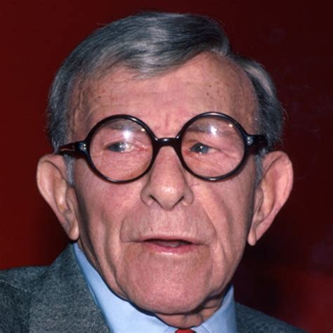 old male actor with glasses george burns television personality comedian film