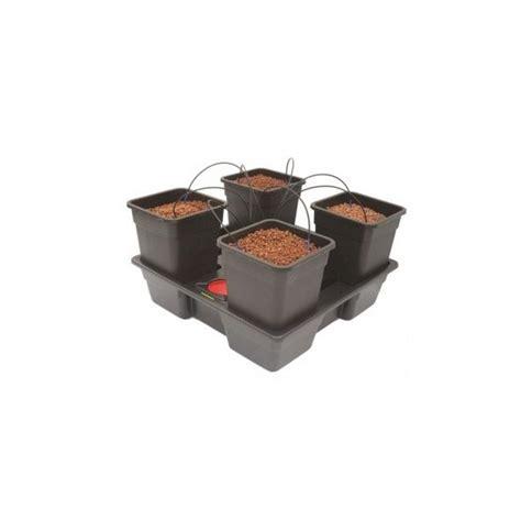 vasi idroponica nutriculture wilma 4 vasi 25l sistema idroponico per
