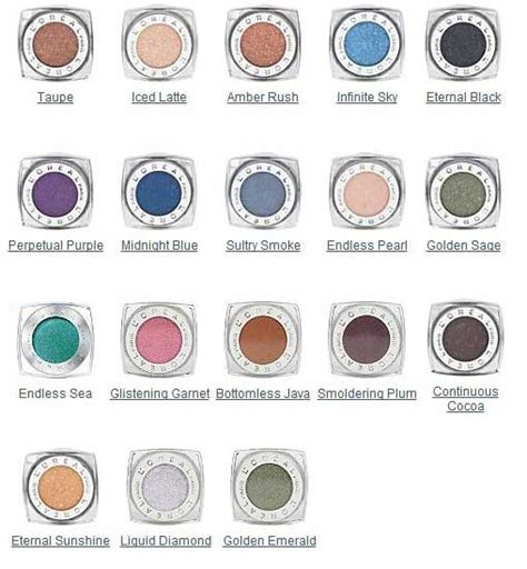 L Oreal Infallible Eyeshadow l or 233 al infallible 24 hr eye shadow maybelline eye makeup and cheap makeup