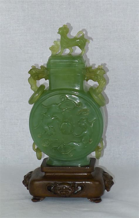 Jade Vases Antique by Antiques Atlas 19th Century Jade Vase And Cover