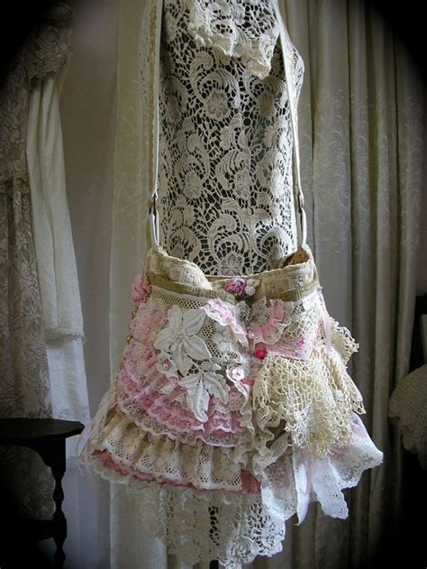 42 best images about shabby chic bags on pinterest prima doll sts romantic and lace