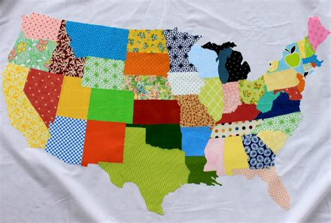 Quilting Fabric Usa by Free Tutorial The United Scraps Of America By