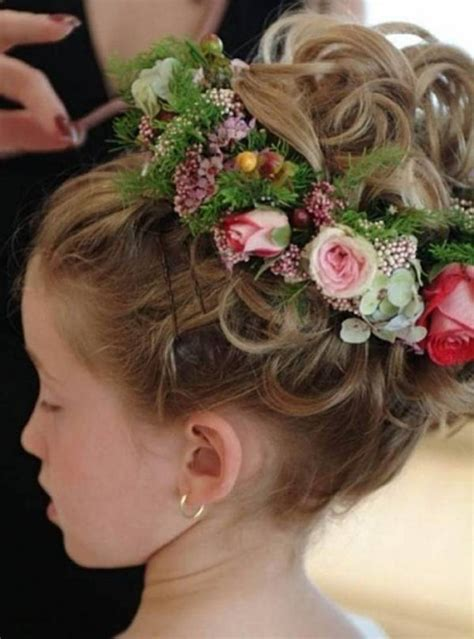 flower girl braided hairstyles for weddings flower girl kids updo flower girls hairstyles for