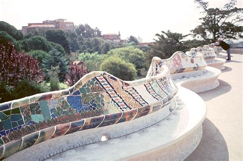 park guell bench park guell by gaudi