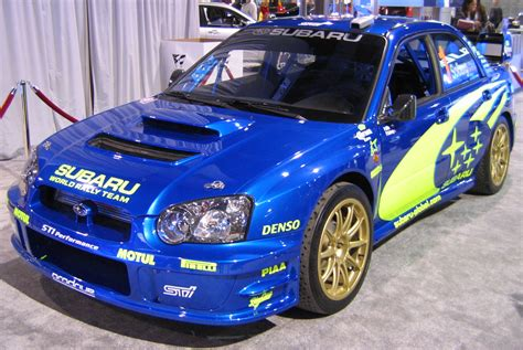 subaru impreza history photos on better parts ltd