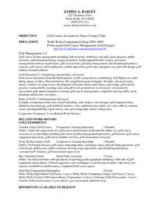Employment History Letter Template Resume Exles Amazing 10 Best College Golf Resume Template For Free College Golf