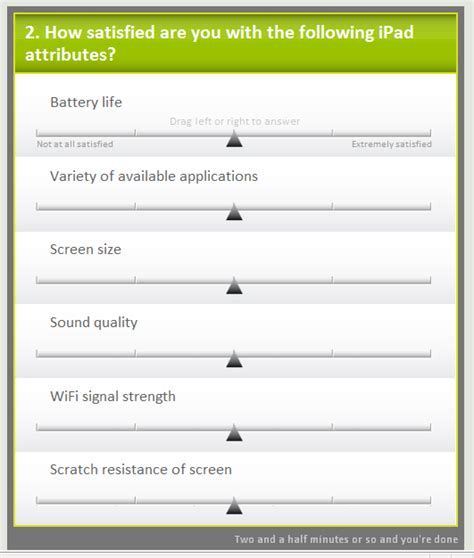 Online Survey Questionnaire - matrix questions in online surveys satisfying but addictive