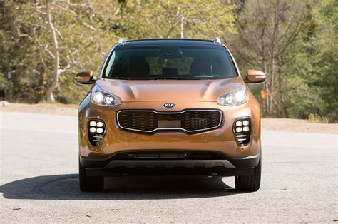 Kia Sportage Front 2017 Kia Sportage Reviews And Rating Motor Trend
