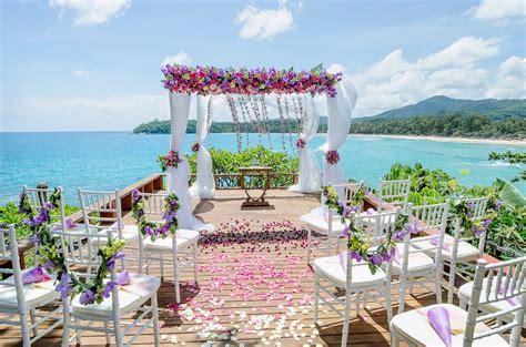 top wedding destination  thailand  wedding bliss