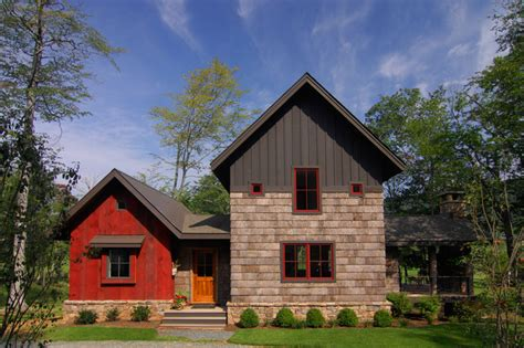 house home design inc bark house shingle siding and reclaimed barnwood siding rustic exterior by