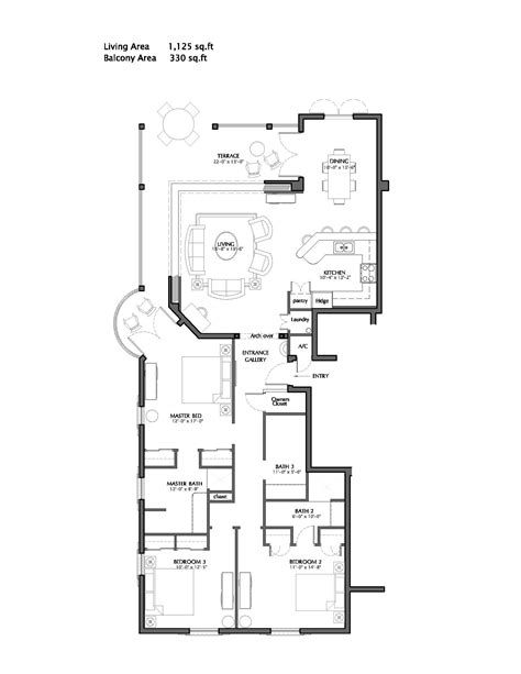 Elara 4 Bedroom Floor Plan Turks And Caicos 3 Bedroom Front Deluxe Suite