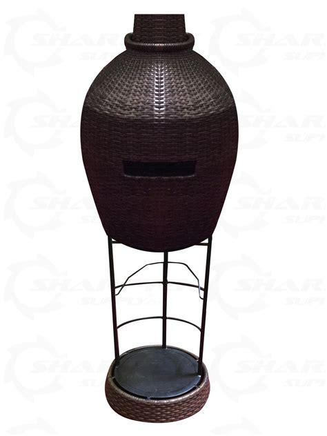 Wicker Patio Heater Lava Heat Italia Commercial Wicker Dome Style Patio Heater 46000 Btu Gas Wicker Bronze
