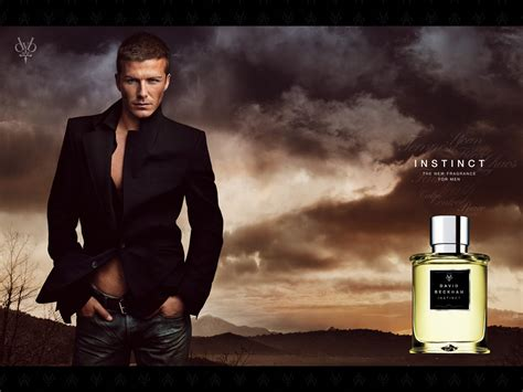 Parfum David Beckham Instinct kd poster on perfume chanel and vintage perfume