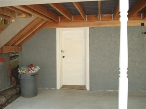 Exterior Basement Door Exterior Makeover All Construction