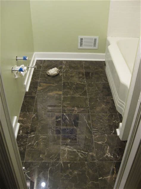 bathroom floor moulding bathroom renovation how to install baseboards trim