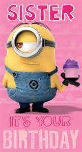 despicable me minion birthday card ebay