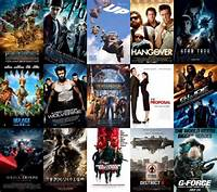 The Biggest Movies Of Summer In Order Left To Right And Top