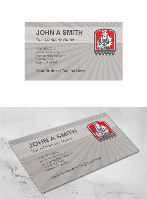 a leg card template business card template butcher leg o business card