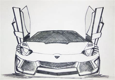 lamborghini sketch lamborghini aventador drawing pen sketch