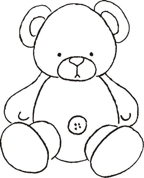 printable templates of teddy bears teddy bear printable templates pinterest
