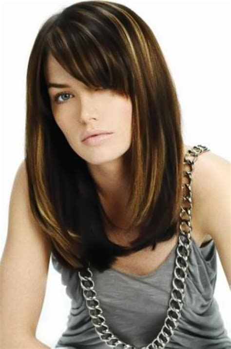 hairstyles with highlights and bangs long hairstyles with bangs for perfect new style