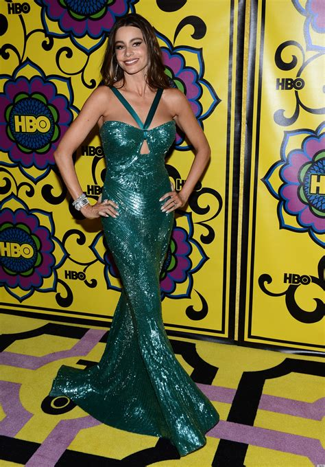 Sofia Vergara Wardrobe by Sofia Vergara Wardrobe At The 2012 Emmys