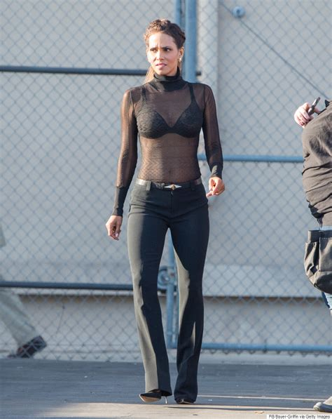 Pixie By Timecase halle berry gives a lesson in sheer dressing during