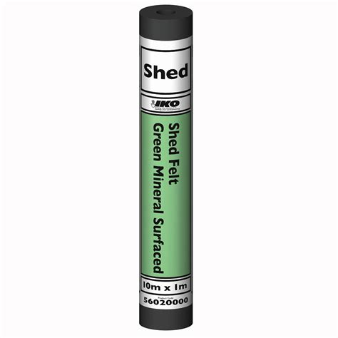 Green Mineral Shed Felt by Green Mineral Shed Felt 20kg X 10mtr Roll