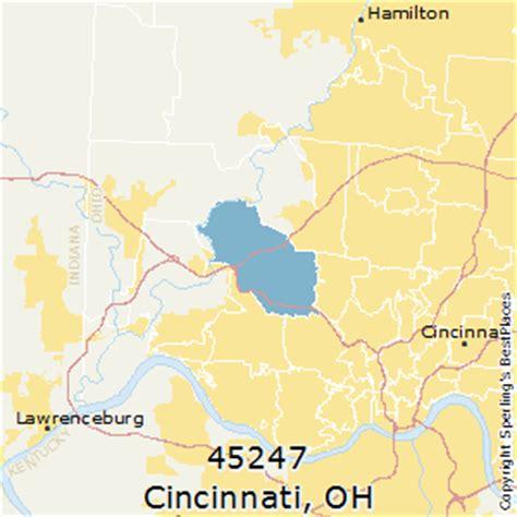 zip code map cincinnati best places to live in cincinnati zip 45247 ohio