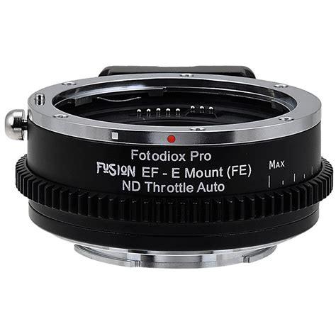 Tp01 Lens Adapter Lensa Canon Ef To Sony E Mount Eos Nex fotodiox canon ef lens to sony e mount eos snye p fusion ndthrtl