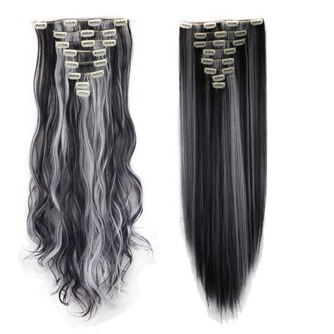 fashion ombre clip in remy hair extensions 3 4 us fashion clip in hair extensions synthetic