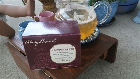 Harry N David Tea Pomegranate tea time with melody q july 2017