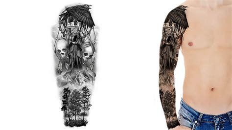 how to design a tattoo sleeve custom sleeve designs custom design