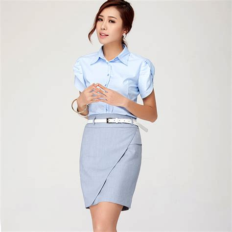 2016 summer style suit sets office business formal blazers s skirt suits for work skirt