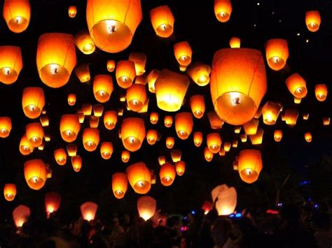 light lanterns 20 50 100 paper lanterns sky fly candle l for