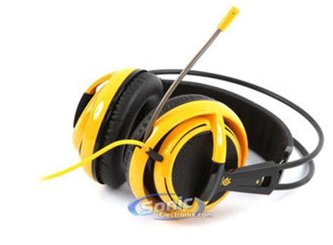 Headset Navi steelseries siberia v2 navi yellow ear gaming headset with mic