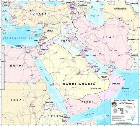 middle east map tehran where is iran located