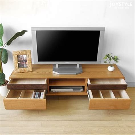 living room tv table japanese style solid wood tv cabinet combination living room coffee table minimalist modern
