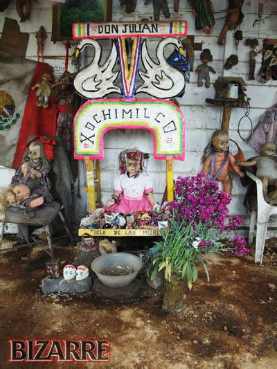 haunted doll place in mexico island of the dolls in mexico the most creepy place in