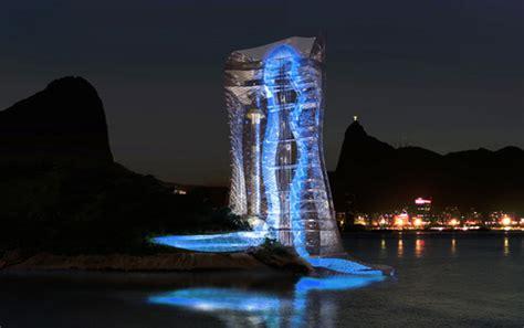 light house design lighthouse tower is a gateway to rio de janeiro mikou design studio evolo architecture
