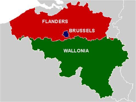 regions of belgium map the presentation on belgium languagefortheblind