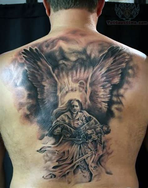 guardian tattoo full body 21 guardian angel tattoos on back