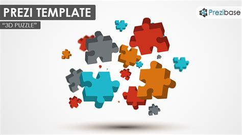 3d puzzle prezi template prezibase