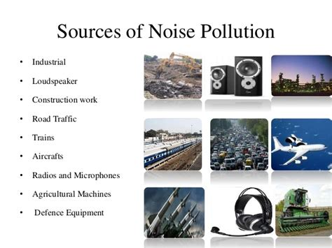 Of Noise Air Noise Pollution