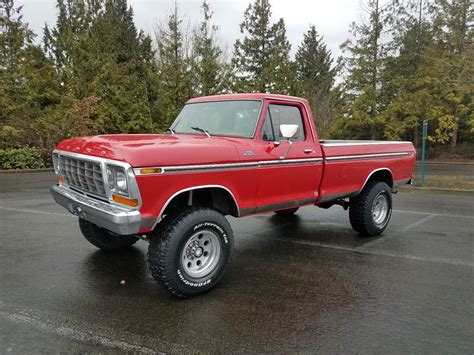 used ford ranger trucks for sale by owner 1979 ford f 250 ranger classic car by owner in spokane