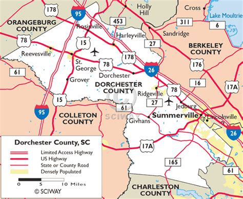 Dorchester County Sc Records South Carolina Dorchester County 171 Every County