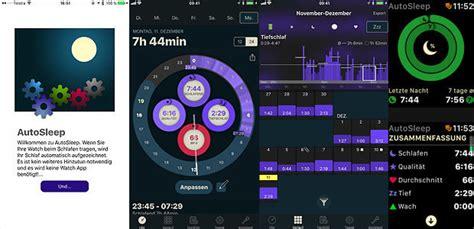 schlaf aufzeichnen app autosleep schlaftracker app daten zu schlafphasen und