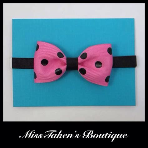 Pink Polka Does It Again Pet Pet Pet Product 6 by Pink Black Polka Dot Bow Tie 183 Misstaken S Boutique