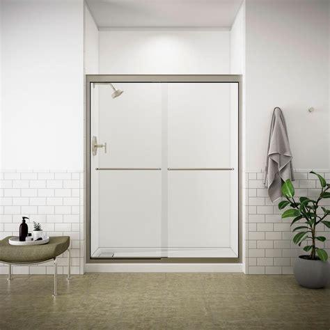 8 x 5 sliding doors kohler fluence 59 5 8 in x 70 5 16 in semi frameless